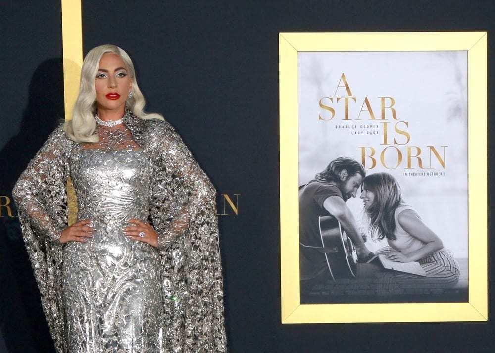 Lady GaGa at A Star Is Born LA Premiere