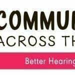 Better Hearing and Speech Month 2019 Logo