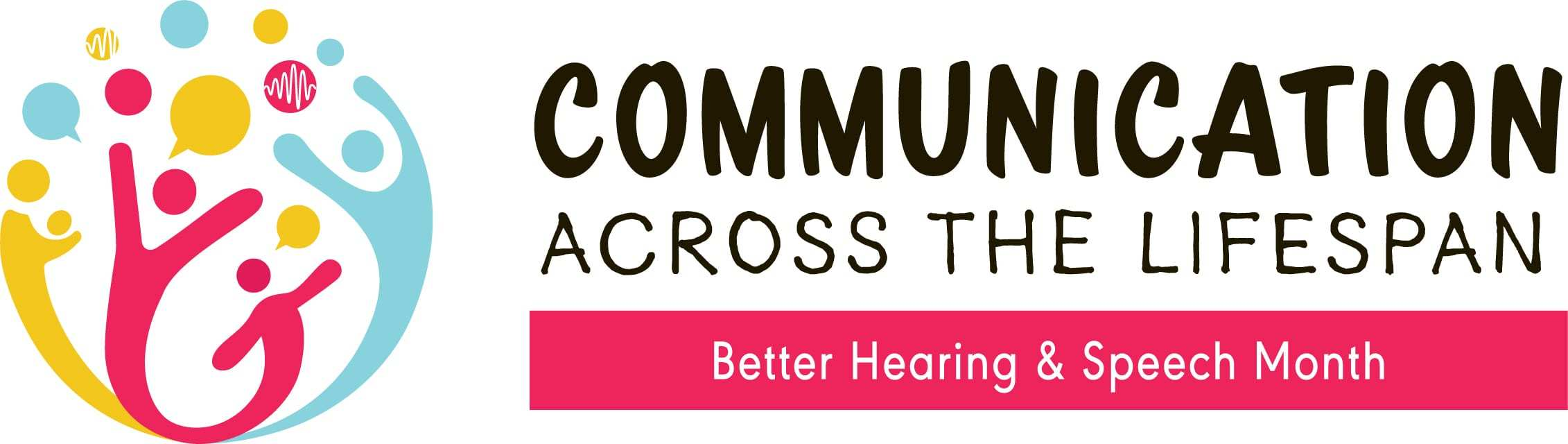 Better Hearing and Speech Month 2019 Logo