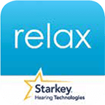 tinnitus sound therapy app starkey relax