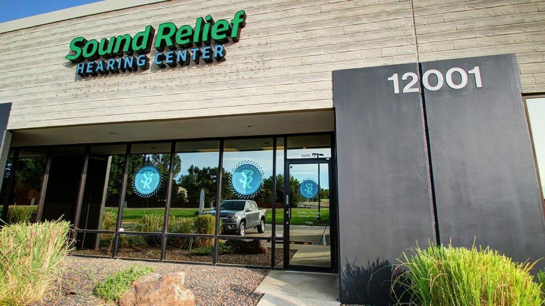 Sound Relief Hearing Center Westminster Colorado Center Office